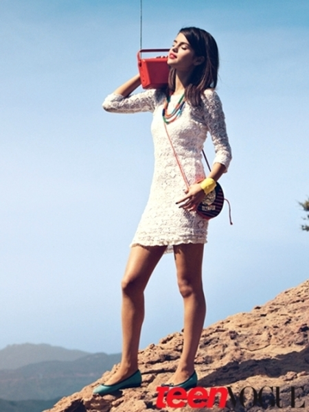 Selena Gomez Pictures for Teen Vogue 2011