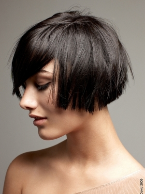 Short Choppy Bob Hairstyle