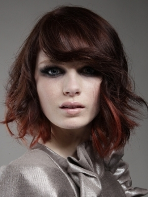 Feathery Layered Hair Style