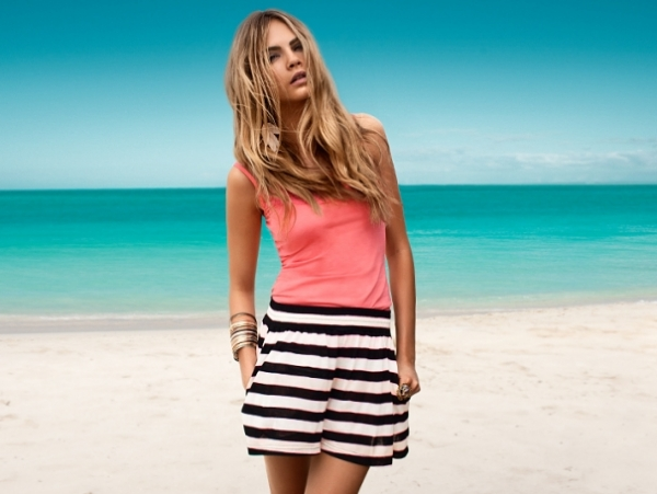 H&M Summertime Seaside SS 2011 Lookbook