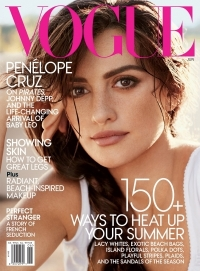 Penelope Cruz Covers Vogue US June 2011