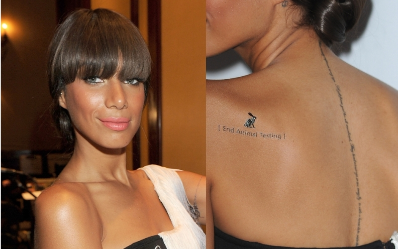 Gorgeous Celebrity Tattoos 2011