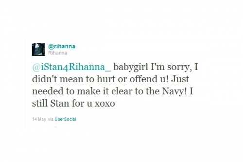 Rihanna and Chris Brown Friends on Twitter