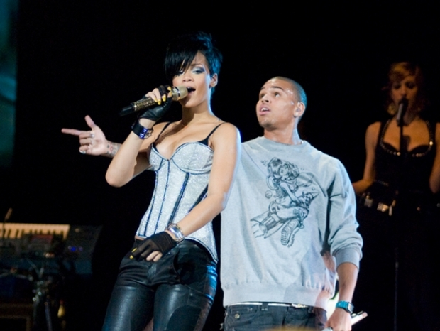 Rihanna and Chris Brown back in 2008