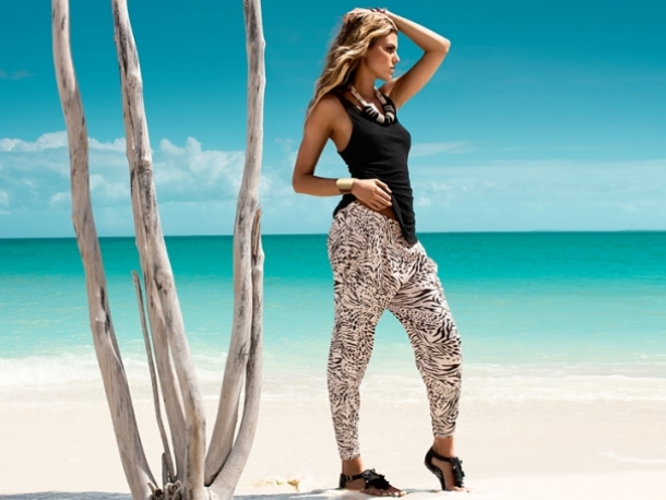 H&M Summertime Exotic SS 2011 Lookbook