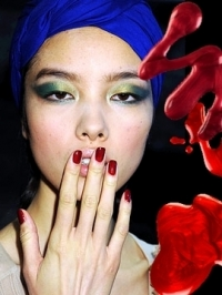 Hot Runway Nail Color Trends 2011