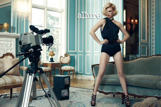January Jones Covers Allure June 2011