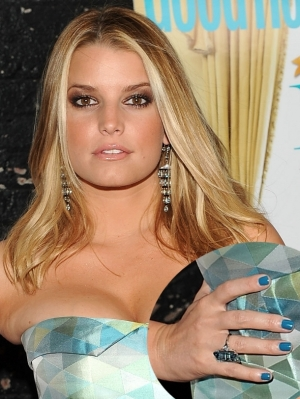 Jessica Simpson Blue Nail Color