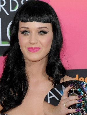 Katy Perry Purple Nail Color