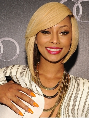 Keri Hilson Orange Nail Color