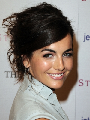Camilla Belle Updo Hair
