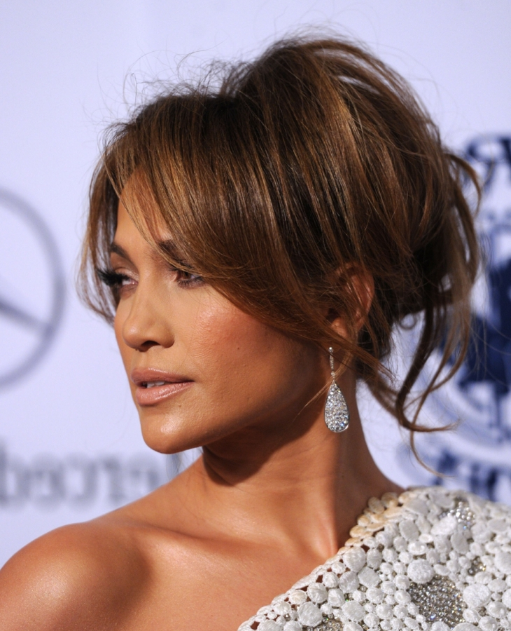 Celebrity Hair Updos 2013 - YouTube