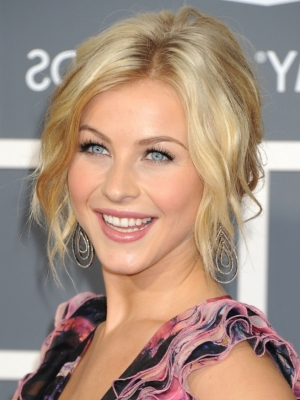 Julianne Hough Updo
