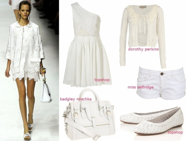 Summer 2011 Fashion Must-Haves - All White Trend