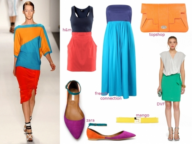 Summer 2011 Fashion Color Blocking