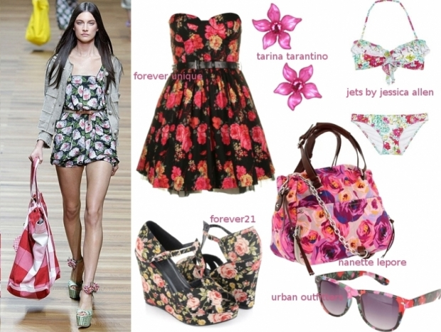 Summer 2011 Wardrobe Essentials Flower Prints