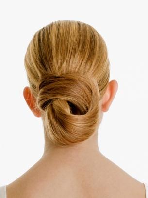Twisted Bun Hairstyle
