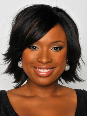 Jennifer Hudson Choppy Medium Hair