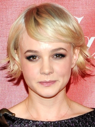 Carey Mulligan Choppy Bob Hair