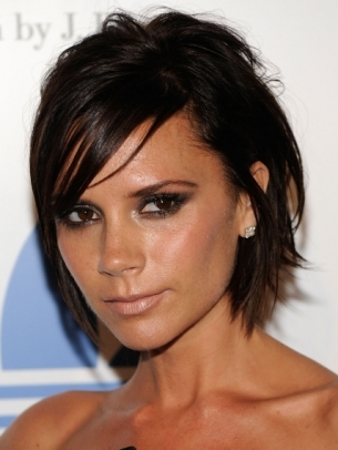 Victoria Beckham Medium Choppy Hair