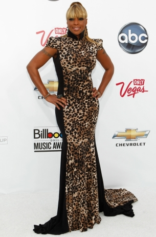 Mary J Blige in Marc Bouwer
