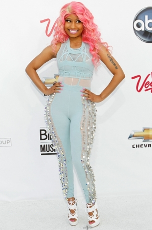 Nicki Minaj in Mark Fast