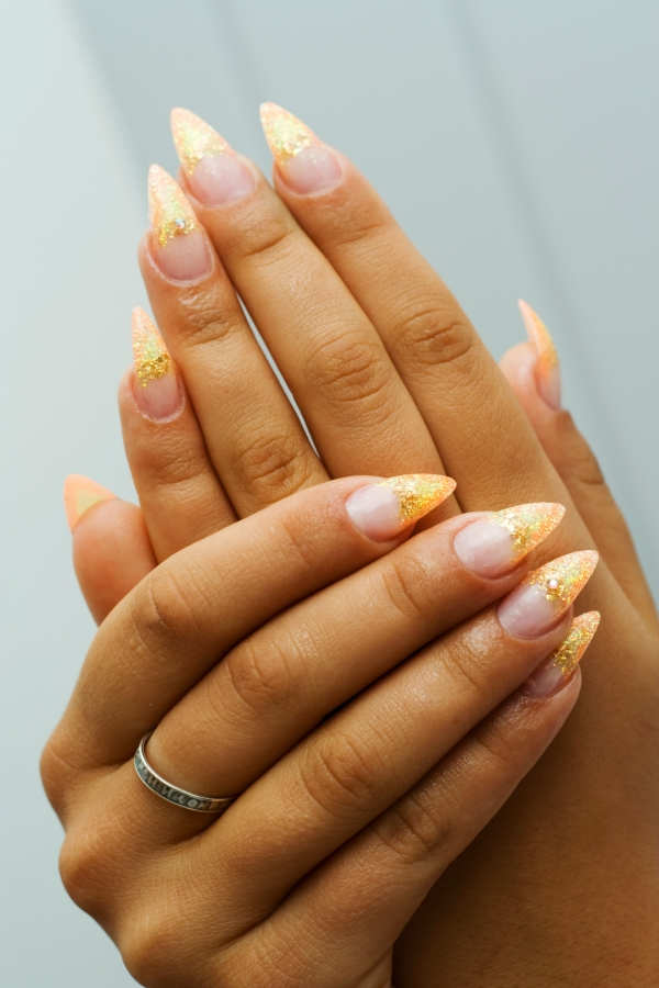 Lovely French Manicure Nail Art Ideas.