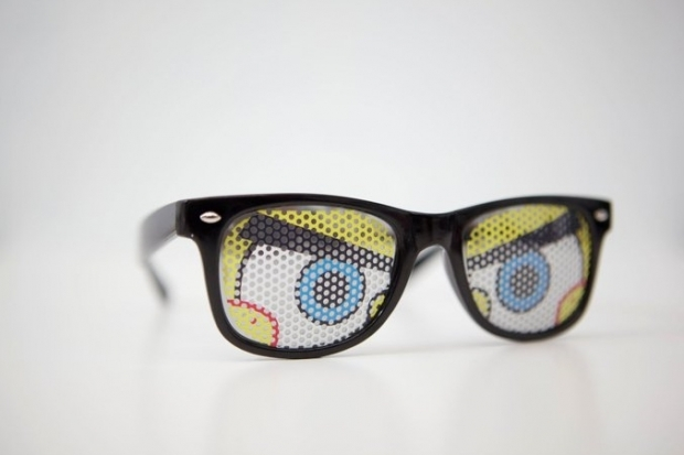 Nunettes Spongebob Inspired Sunglasses