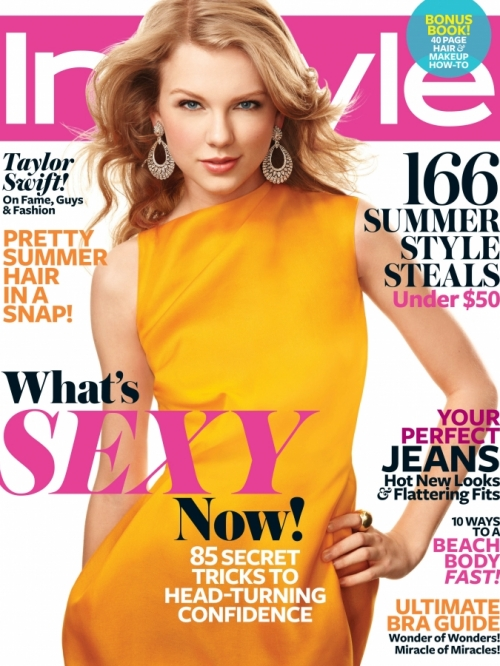 Taylor Swift Pictures 2011 InStyle
