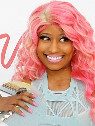 Nicki Minaj Pink Nail Color