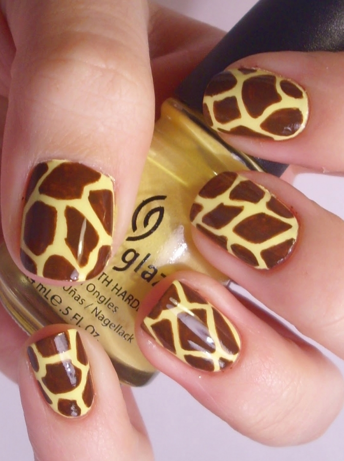 animal print nails - Nail Design Ideas 2012