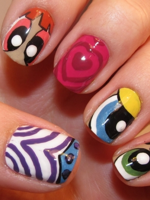 طلاء اظافر جريمى جديد 2015 power_puff_nails_thumb.jpg
