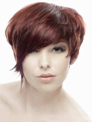 flirty short hairstyle ideas