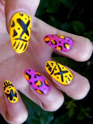 Flirty Colorful Nail Art Ideas