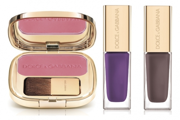 Dolce & Gabbana Holiday 2011 Blush Nail Polish
