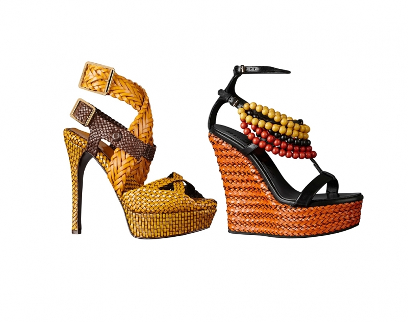 And style with the dazzling burberry prorsum spring summer 2012 shoes