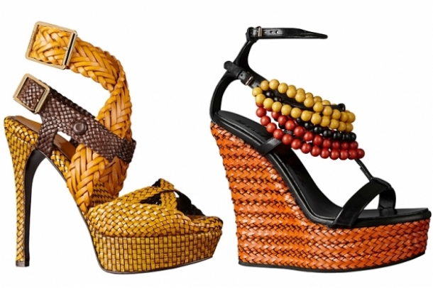 Burberry Prorsum Spring/Summer 2012 Shoes