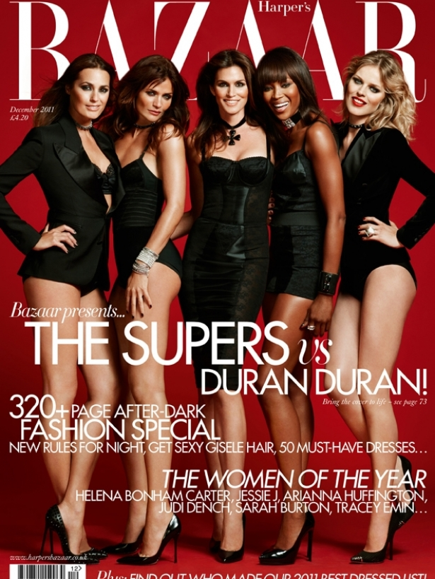 Supermodels Cover Harper