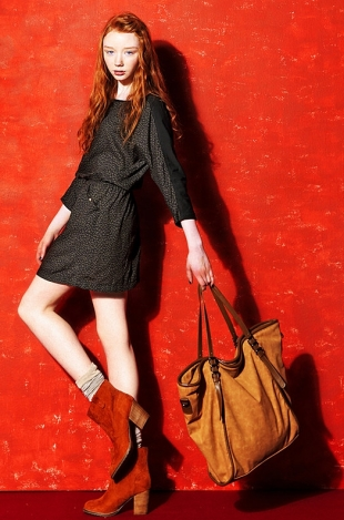 Bershka November 2011 Lookbook