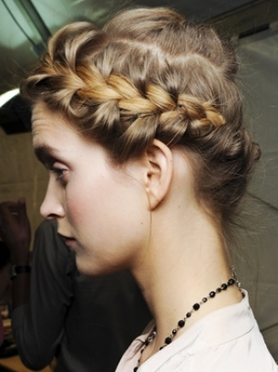 Braied Updo Hair