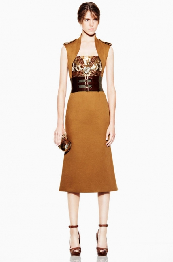 Alexander McQueen Resort 2012 Collection