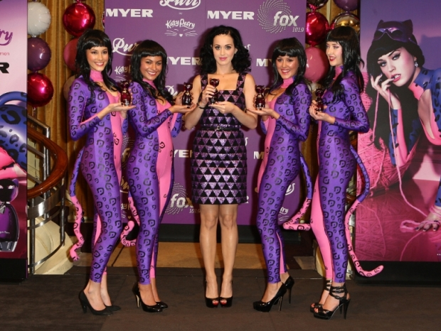 Katy Perry Purr Fragrance launch