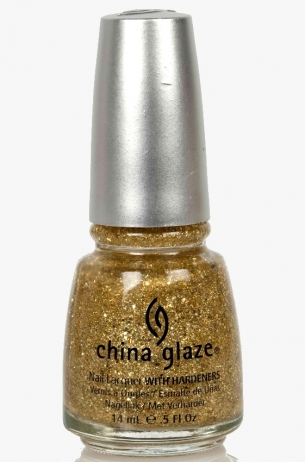 Blonde Bombshell China Glaze 3D Glitter Nail Polish