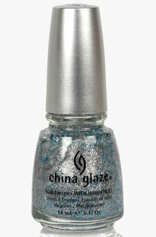 Loreleis Tiara China Glaze 3D Glitter Nail Polish