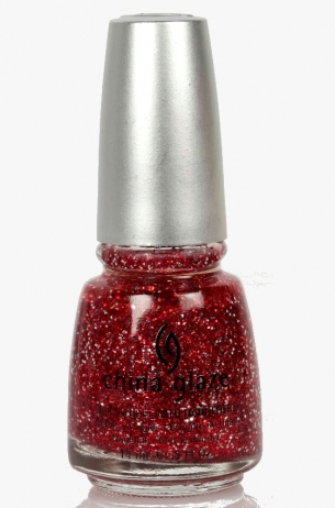 Love Marilyn China Glaze 3D Glitter Nail Polish