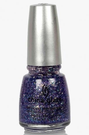 Marry A Millionaire China Glaze 3D Glitter Nail Polish