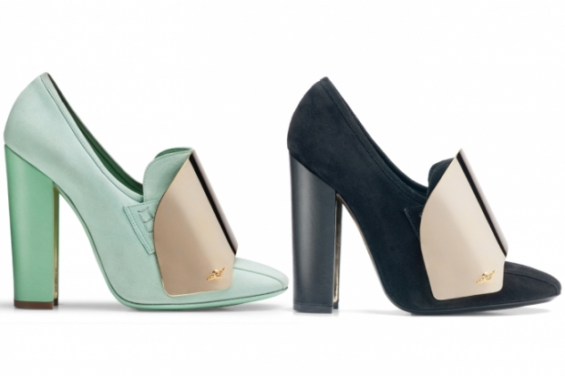 Yves Saint Laurent Spring 2012 Shoes