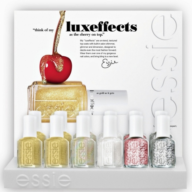 Essie Luxeffects Holiday 2011 Nails