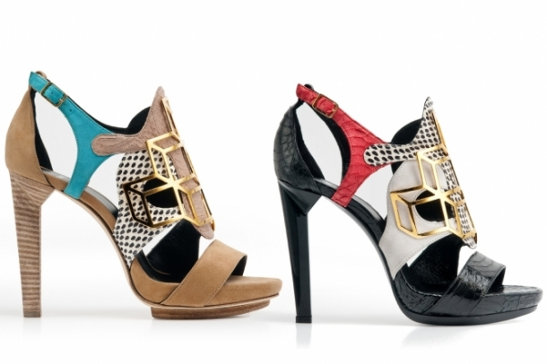 Pierre Hardy Spring 2012 Shoes