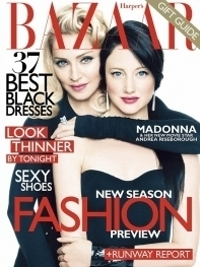 Madonna Covers Harper's Bazaar December 2011